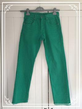 Groene jeans van Denim - maat 158