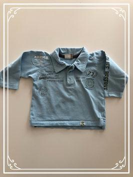 Lange mouwen shirt met kraag - Maat 68