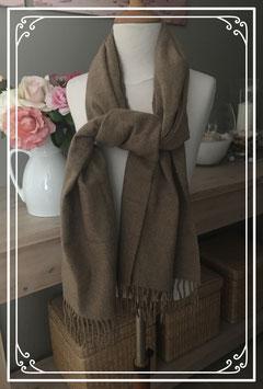Zachte bruine sjaal van Prizzi