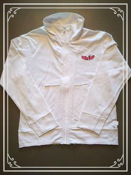 Wit sweater vestje van Villa Happ - maat 116