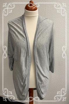 Loshangend grijs vest van H&M maat M