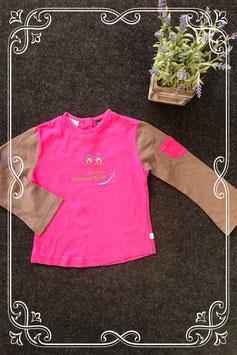 Leuk roze met bruin shirt van Villa Happ maat 110