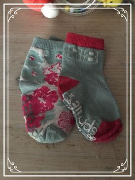 Vrolijk gekleurde sokjes van Spruit - 6-12 Maanden
