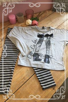 2 delige kledingset van de Zara en H&M - Maat 128