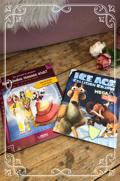 Twee leuke boekjes van Ice Age en mode
