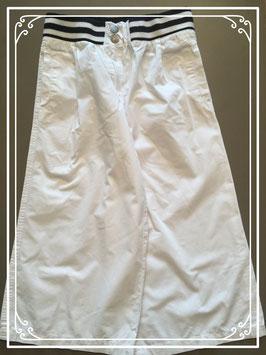 Witte katoenen 3/4 broek van Bon'a parte - maat 140