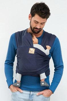 Nieuw: Babylonia Tricot Slen Organic Draagdoek Baby Blue Jeans