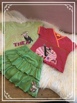 3 delige kleding set met Thea - Maat 98