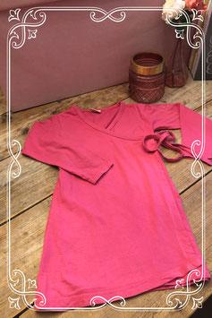 Fuchsia overslagtruitje van girls wear-maat 128-134