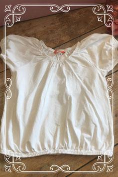 Wit shirt met korte mouw van HEMA - Maat 128
