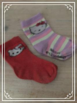 Hello Kitty sokjes - 6-12 Maanden