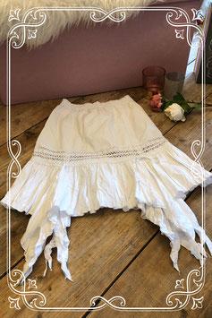 Speciale witte zomerrok van Eliane & Luna - Maat 146