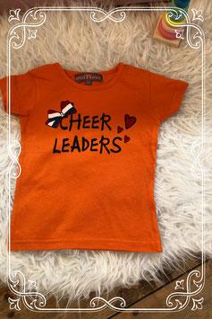 Oranje shirtje van musthave - maat 98/104