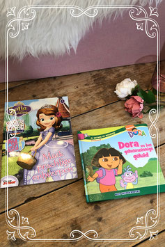Dora boekje en Prinses Sofia magazine