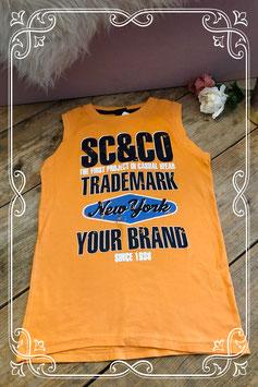 Oranje hemd van Scamps&Boys - Maat 152-158