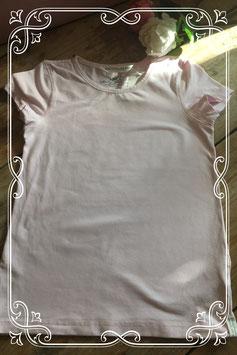 Zacht roze basic shirt van de H&M-maat 122-128