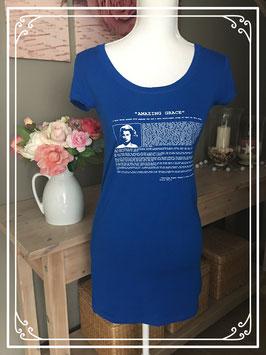 Blauw T-shirt met korte mouw van Love2wait - maat S