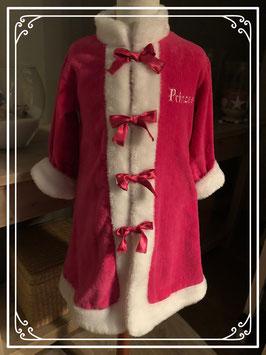 Roze prinsessen badjas van Playama - Maat 110-116