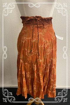 Nieuw! Mooie oranje rok van Bleuette maat M