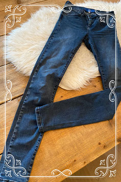 Donkerblauwe jeans van The Sting - maat XXS