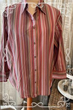 Roze gestreepte blouse van het merk Grandiosa - maat 52