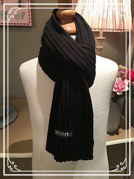 Nieuw: zwarte sjaal van Coolzone