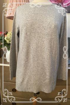 Heerlijk zachte grijze trui van Street one - Maat 40