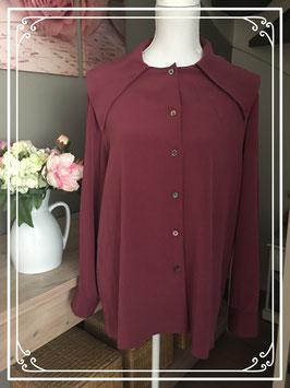 Paarse blouse van Tru - Maat 42
