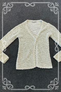 Wit met  grijs vest van Ai_Girl maat 134/140