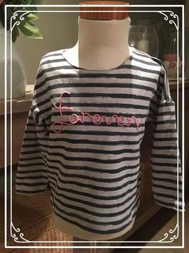 Gestreept lange mouwen shirt van NAME IT - Maat 104
