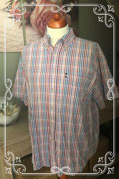 Mooie ruitjes blouse van V&D maat XL (43-44)