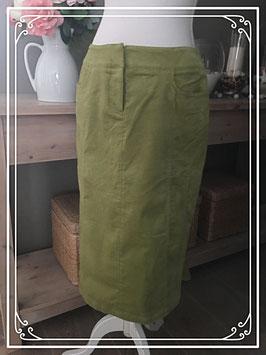Nieuw: Lime groene rok van Transfer - Maat 40