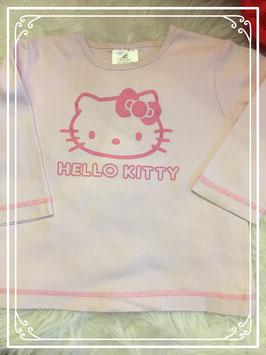 Licht roze longsleeve merk Hello Kitty - maat 86/92