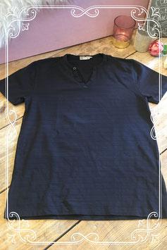 Zwart korte mouwen shirt van WE - Maat M