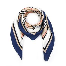 Nieuw: Sunset Fashion - Vierkante sjaal - Navy Blue