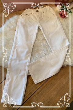 Witte GEISHA jeans - Maat 134