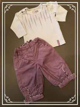 Paarse kleding set van NAME IT - Maat 62