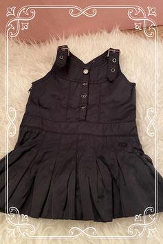 Super mooi zwart jurkje van Bakkaboe - Maat 62