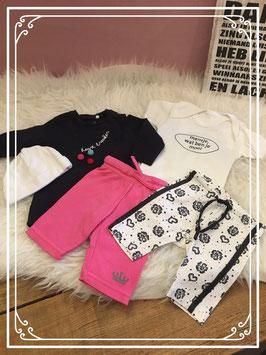 Vijf delige kleding set van verschillende merken Maat - 56