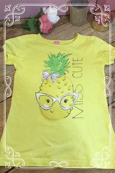 Geel t-shirt van Dopo Dopo girls - maat 128