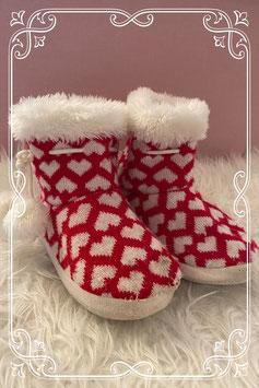Warme pantoffels maatje 34