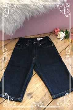 Donkerblauwe spijkerbroek van H&M - maat 140