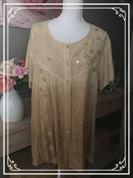 Nieuw: beige blouse - Maat XL
