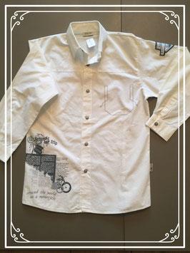 Staxo hemd met opdruk - maat 140