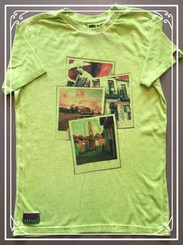 Flashy groen T-shirt van MTC Ajoy - maat 152