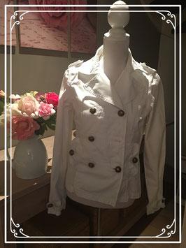 Witte zomerjas - Maat M