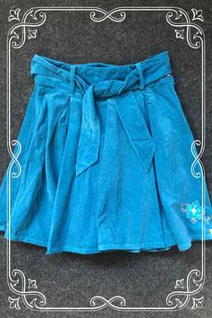 Donkerblauwe rib rok van Chips & Cheps maat 146