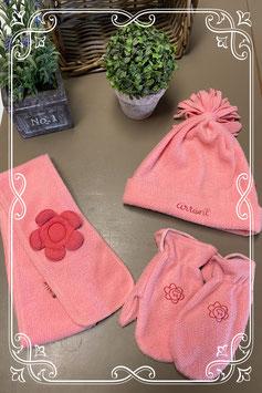 Roze 3-delige set van Artoni by Villa Happ - van 5-8 jaar