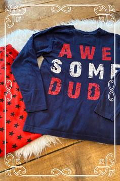 Blauw-rode pyjama van het merk Night Wear - maat 152-158
