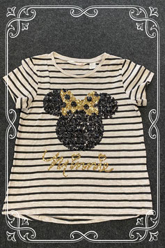Gestreept shirt met Minnie Mouse van H&M maat 134/140